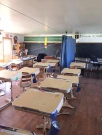 Amish schoolroom