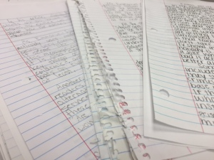 papers to grade